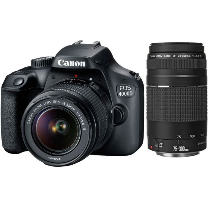 3011C022AA - Canon 4000D Double lens Kit