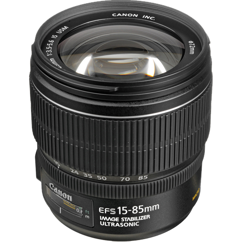 3560B005AA - Canon EF-S 15-85mm f/3.5-5.6 IS USM Lens