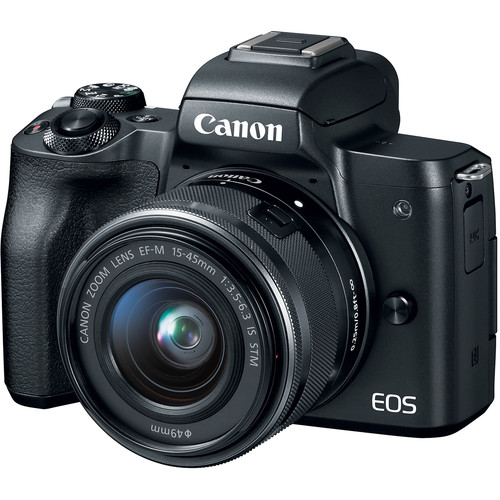 2680C081AA - Canon EOS M50 15-45mm Black