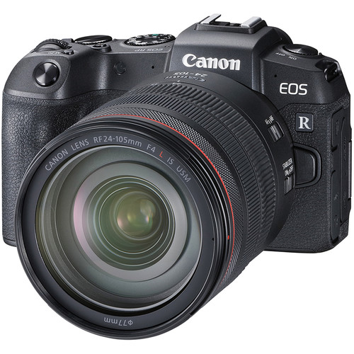 3380C067AA - Canon EOS RP with RF24-105 L IS lens and RF Adapter