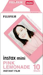16581836 - Fujifilm Instax Mini Film Pink Lemonade (10 Shots)