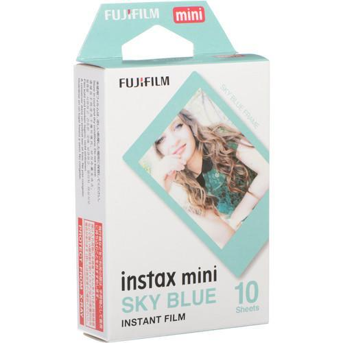 PT221567 - Fujifilm Instax Mini Film Sky Blue (10 Shots)