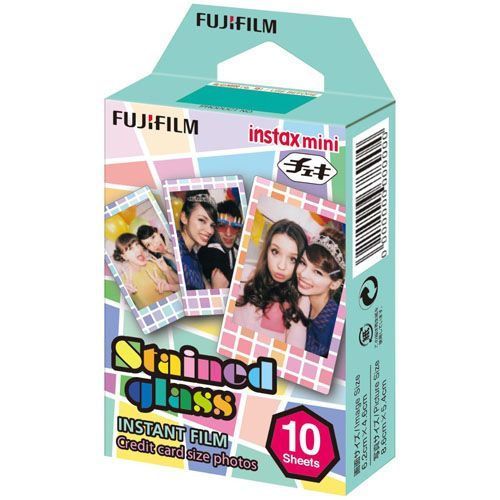 PT221559 - Fujifilm Instax Mini Film Stained Glass (10 Shots)