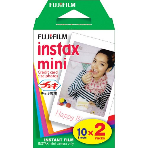 PT221564 - Fujifilm Instax Mini Film Plain White (20 Shots)