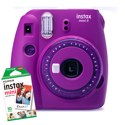 16632922COMBO1 - Fuji Instax Mini 9 Violet 1 Film Bundle