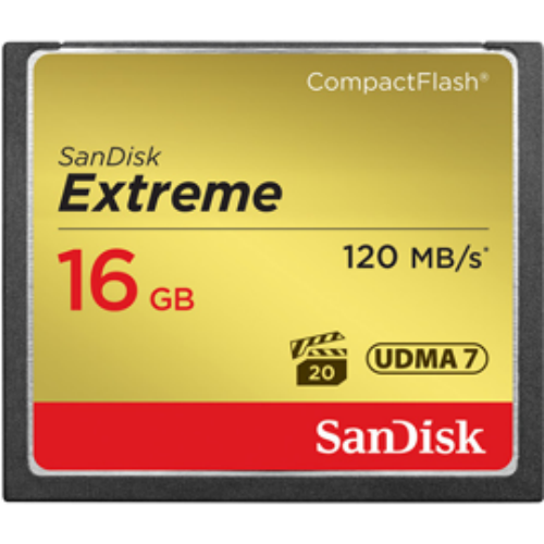 PT114606 - Sandisk 16GB Extreme Compact Flash