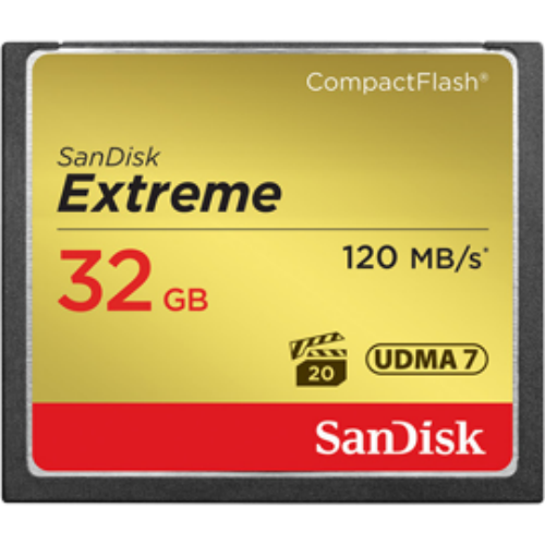 PT114614 - Sandisk 32GB Extreme Compact Flash