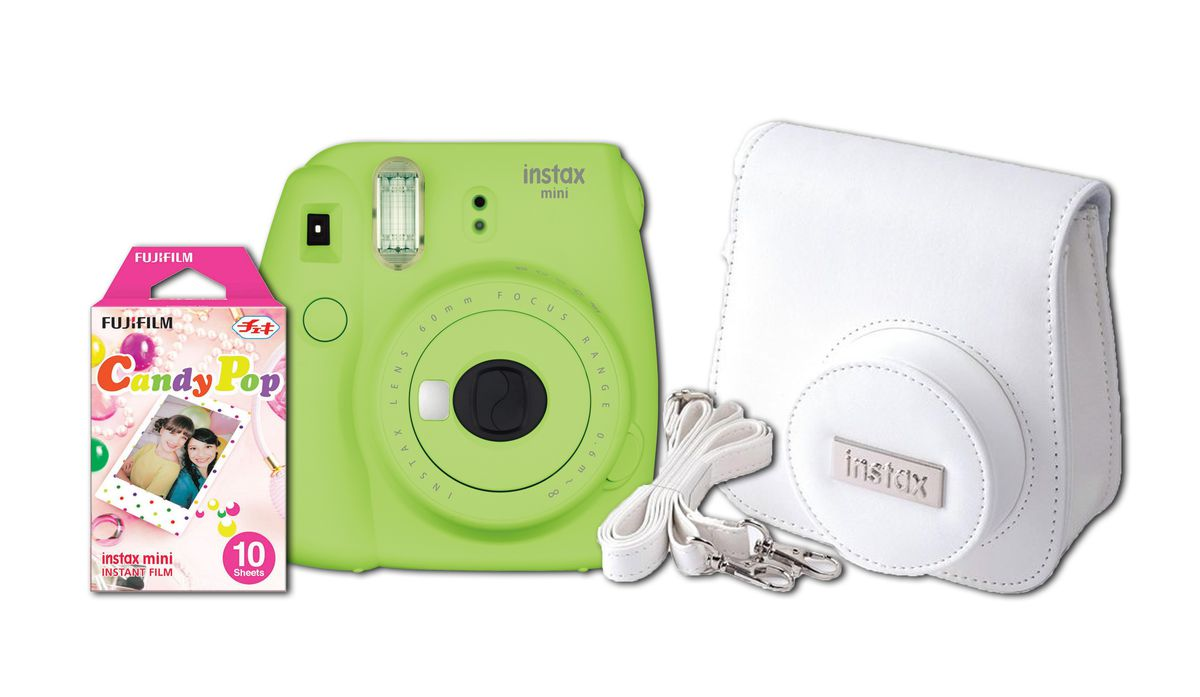 INSTAX MINI 9 LIME GREEN - Fujifilm Instax mini 9 Lime green bundle